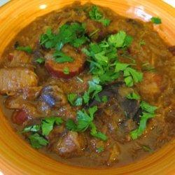 Polish Sauerkraut Stew