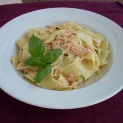Smoked Salmon With Pasta