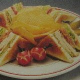 Tasty Club Sandwich With A Plus