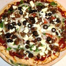 My Big Fat Greek Pizza recipe