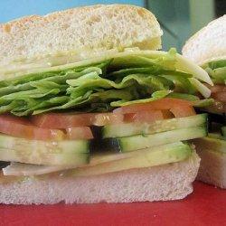 Laguna Beach Veggie Sandwich