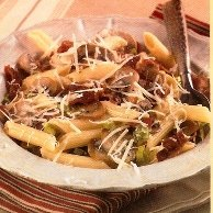 Penne Pasta With Bacon And Cream - Southern Living