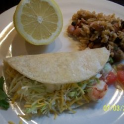 Shrimp Tacos With Pico De Gallo