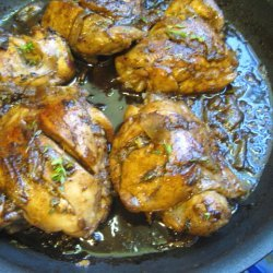Chicken In Balsamic Vinegar