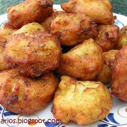 Cod And Potato Fritters recipe
