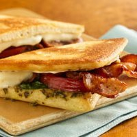 Bacon  Caesar And Mozzarella Panini