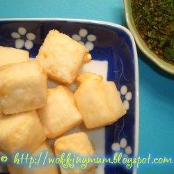 Deep Fried Tofu Cubes