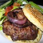 Stuffed Grilled Hamburgers recipe