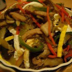 Chap Che Korean Vermicelli Stir Fry