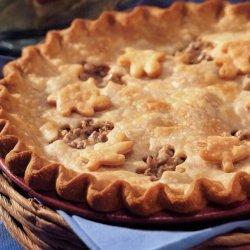 Savory Beef And Mushroom Pie