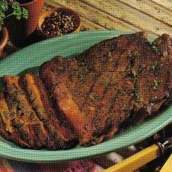 Pepper Sirloin Steak