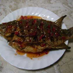 Fried Tilapia With Thai Sauce