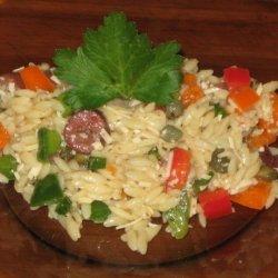 Tuscan Orzo Salad