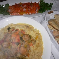 Moroccan Chicken And Vegetable Couscous