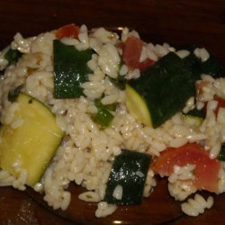 Orzo With Zucchini And Tomatoes