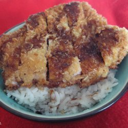 Japanese Tonkatsu Fried Pork Cutlet