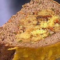Guys Big Bite Cornbread Stuffed Meatloaf