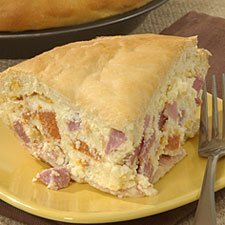 Italian Easter Meat And Cheese Pie