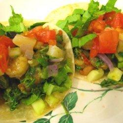 Soft Shrimp Tacos With Pineapple Salsa