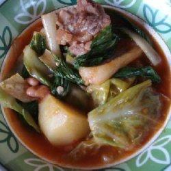 Filipino  Beef Pochero
