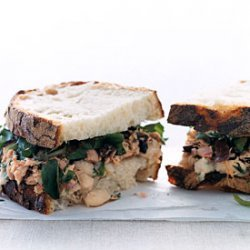 Tuscan Tuna And Bean Sandwiches