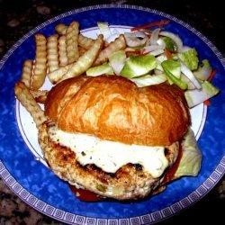 Bistro Chicken Sandwich With Tarragon Sauce On Cro...