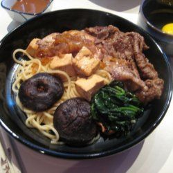 Sukiyaki Traditional recipe
