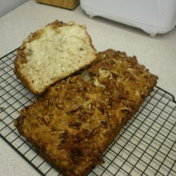 Cream Cheese Banana Bread With Crunchy Pecan Toppi... recipe