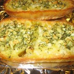 Garlic Bread With Herbs De Provence No Cheese