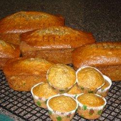 Grandmas Zucchini Bread recipe