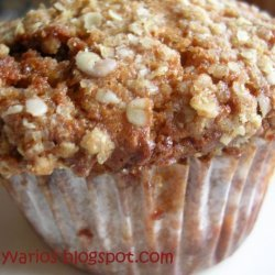 Streusel Top Double Cinnamon Muffins