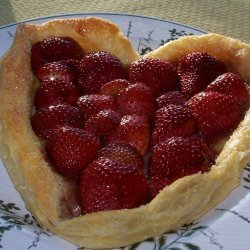 Balsamic Glazed Strawberry Tart For Your Valentine recipe