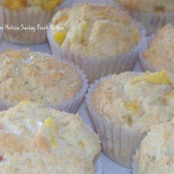 Fresh Peach Muffins recipe