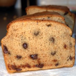 Peanut Butter And Chocolate Chip Bread recipe