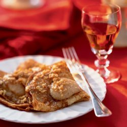 Warm Crepes with Hazelnut Brown Butter
