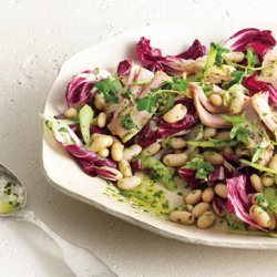 White Bean and Tuna Salad with Radicchio recipe