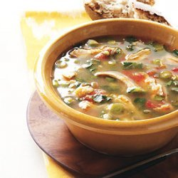 Chicken and Hominy Soup recipe