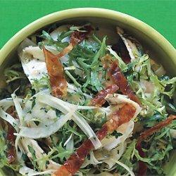 Artichoke, Fennel, and Crispy Prosciutto Salad