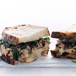 Tuscan Tuna-and-Bean Sandwiches