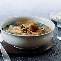 Italian Meatball Soup Rapido recipe