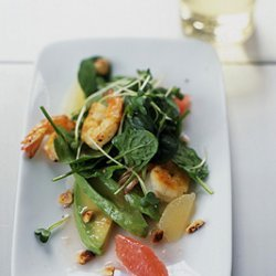 Shrimp and Avocado Salad with Grapefruit Vinaigrette