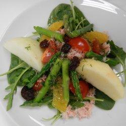 Asparagus, Crab, and Orange Salad
