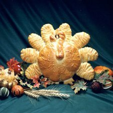 Turkey Bread Centerpiece