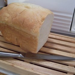 Great Bread Machine White Bread recipe