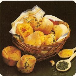Quick Parsley-garlic Rolls