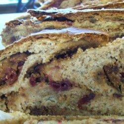 Almond - Zucchini Babka recipe