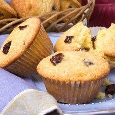 Tart Cherry And Almond Muffins