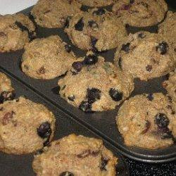 Elaines Heart-healthy Blueberry-raisin-bran Muffin...