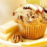 Apple Pecan Muffins With Brick Cheese