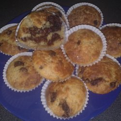 Chocolate Nutella Muffins recipe